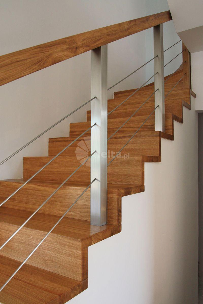 balustrady wewnętrzne drewniane