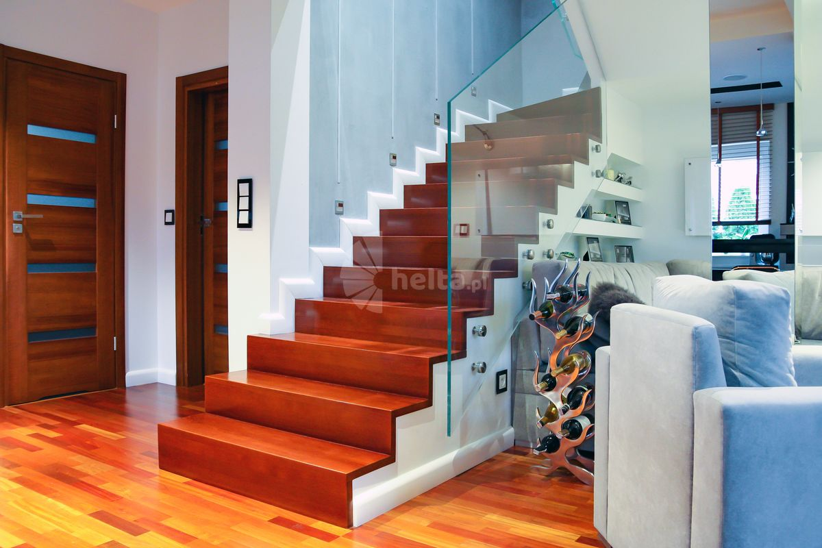 balustrady schodowe wewnętrzne nowoczesne