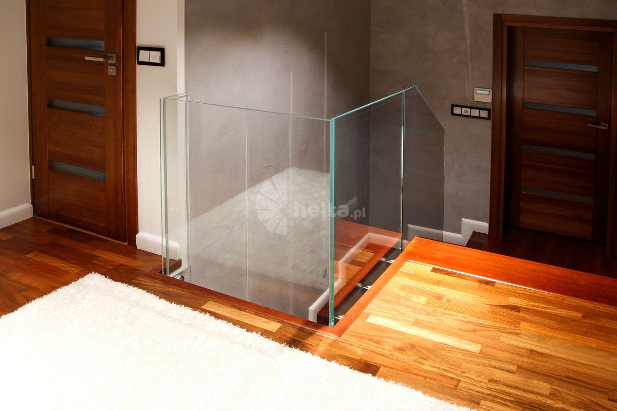 barierki schodowe szklane