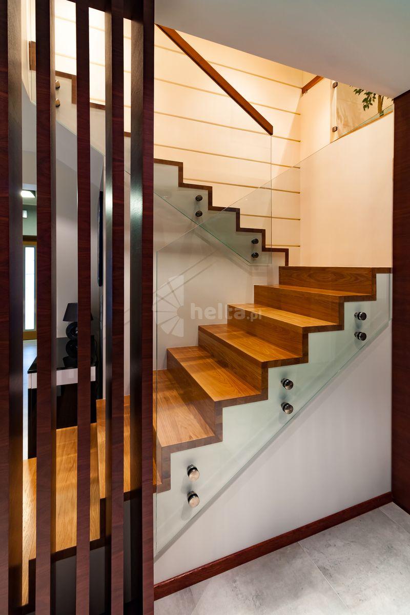 szklane balustrady schodowe