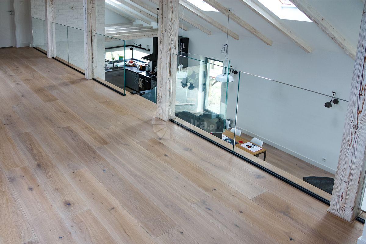 balustrady wewnętrzne drewniano metalowe