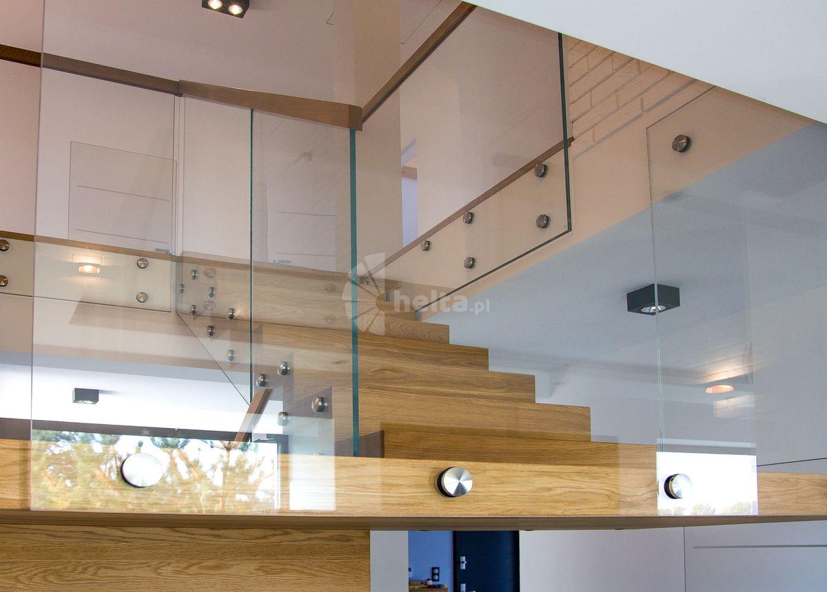 schody drewniane samonośne zabiegowe