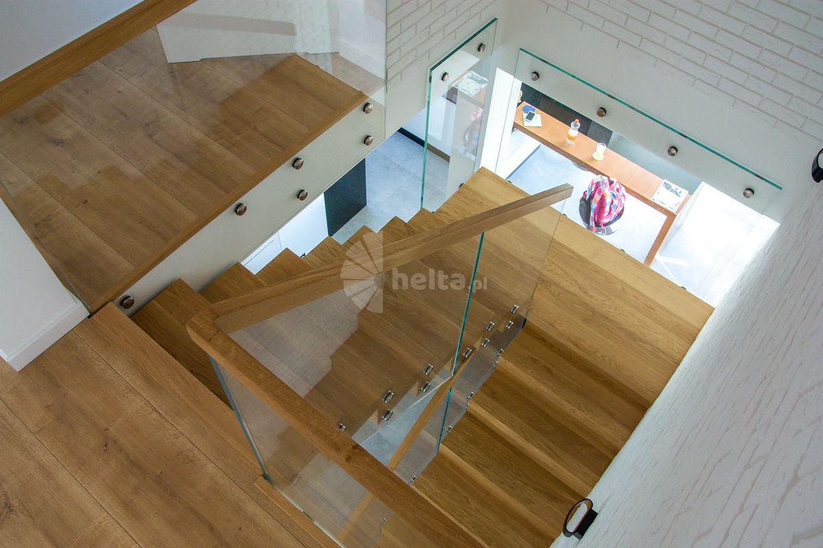 schody drewniane samonośne konstrukcja