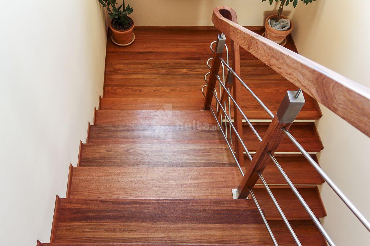 barierki drewniane na schody