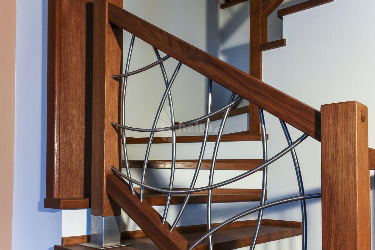 balustrada drewniana wewnętrzna