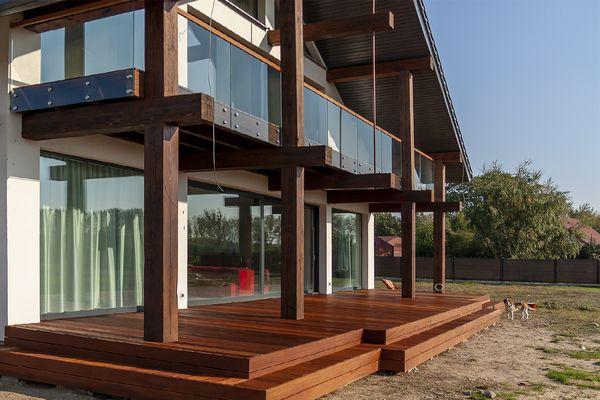 Balustrady Wewnętrzne Balustrada Drewniana Balustrada