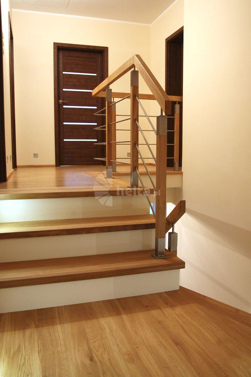 schody drewniane wewnętrzne
