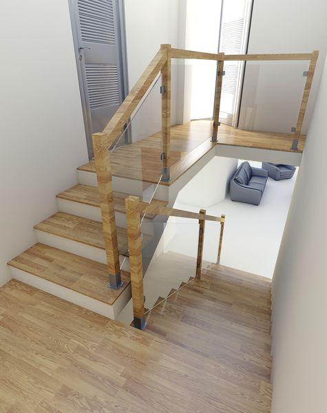 Projektowanie balustrad drewnianych w formie ramowej