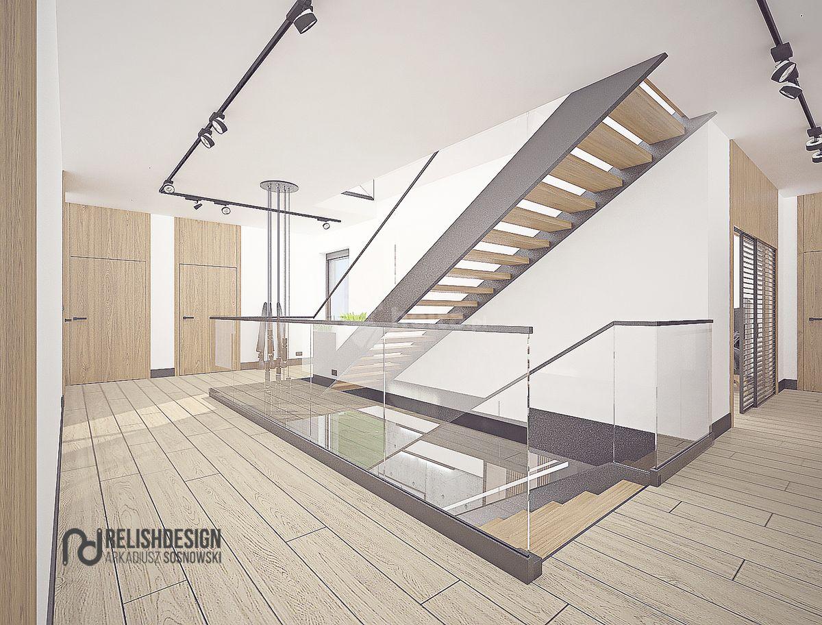 Wizualizacja schodów